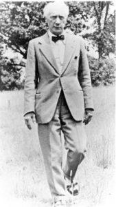 F.M.Alexander, Begruender der nach ihm benannten Technik